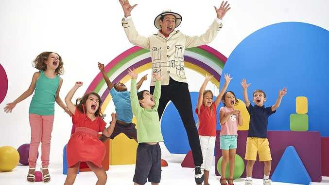 Sam Moran, the former Yellow Wiggle, hosts his own TV series Play Along With Sam on Nick Jr.