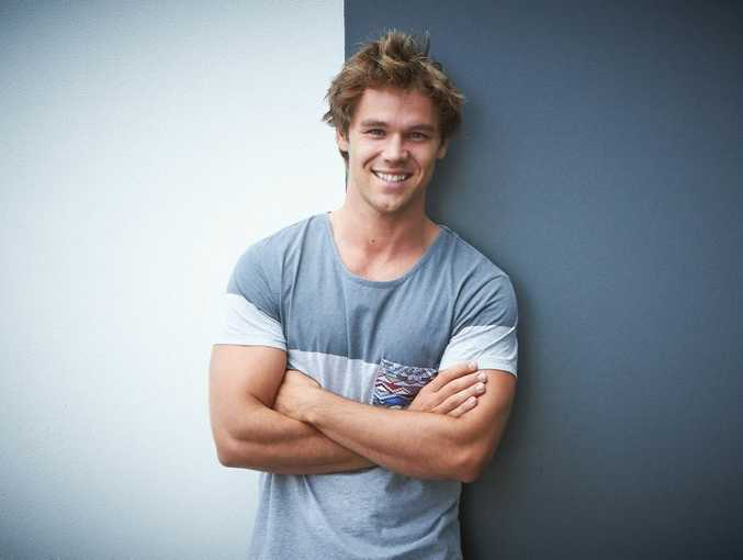 Lincoln Lewis is the new ambassador of Foxtel Express.