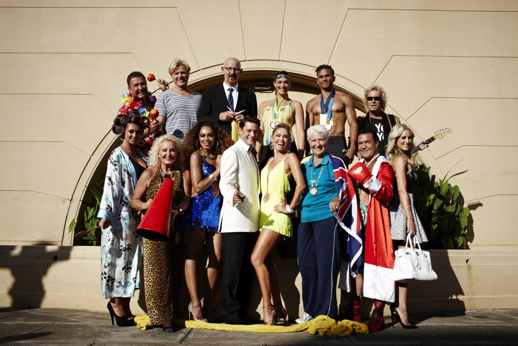 The cast of the new, third series of Celebrity Apprentice.
