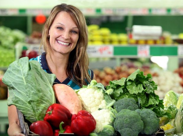Rachel Erbacher of Erbacher's Fruit and Veg with a large selection fresh produce at great prices.