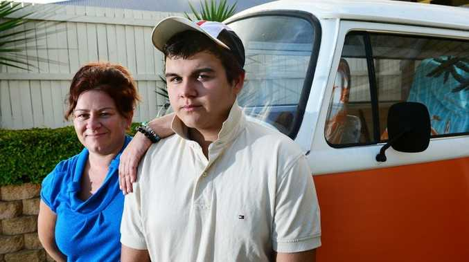 TOUGH LOVE: Melita Shaw is proud of the changes in her son Cody Lorkin's behaviour after he attended an army-style bootcamp.