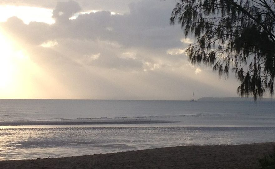 Hervey Bay's forecast for Friday is for early showers, clearing.