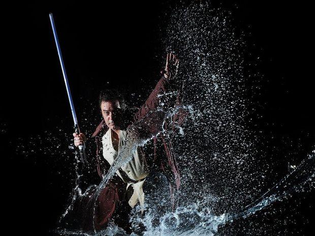 Star Wars fan Andy Gough.