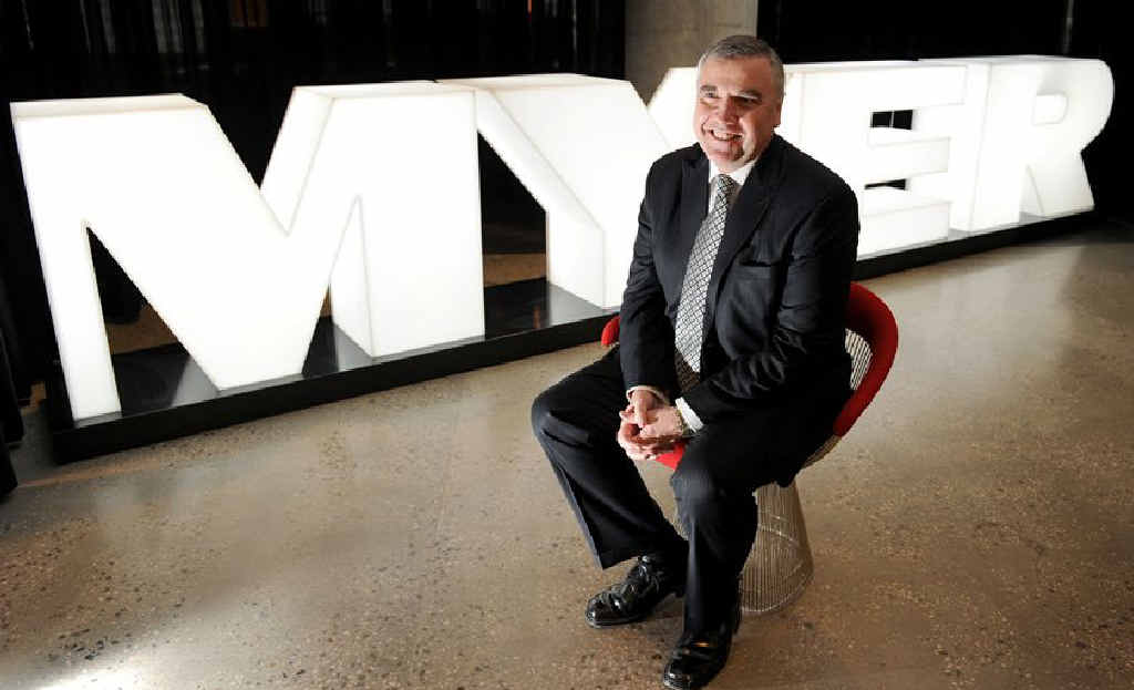 HE SAID WHAT? Myer chief executive officer Bernie Brookes.