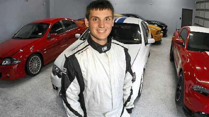 V8 racer Morgan Haber.