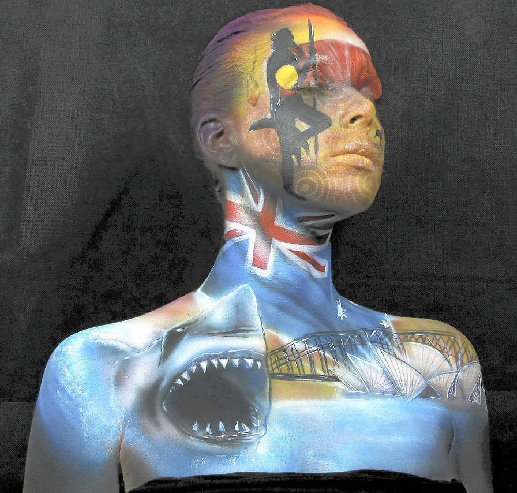ACCLAIMED: You won't believe your eyes at the creativity involved in body art.