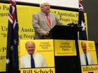 Clive Palmer announces Bill Schoch as the United Australia Party candidate for the Sunshine Coast seat  of Fisher.