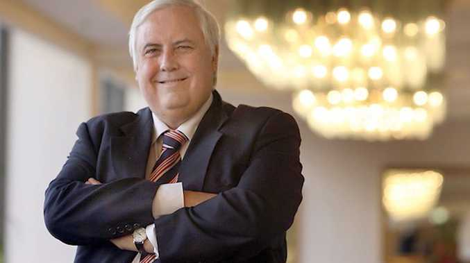 Clive Palmer says funding for hospitals will be top of the list.