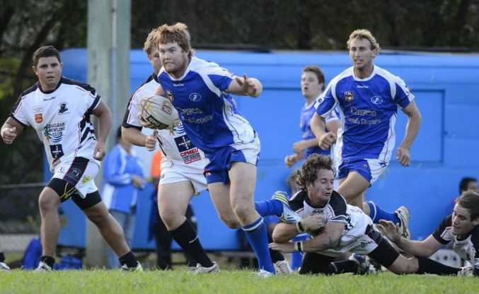 Grafton Ghosts lock Ben McLennan was one of three Ghosts named in the NRRRL's Team of the Year.