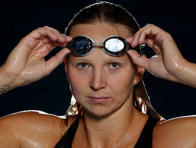 BRING ON THE WORLD: Australian Olympic Games swimmer Melanie Schlanger has qualified for a relay at the world championships in Barcelona in July-August.