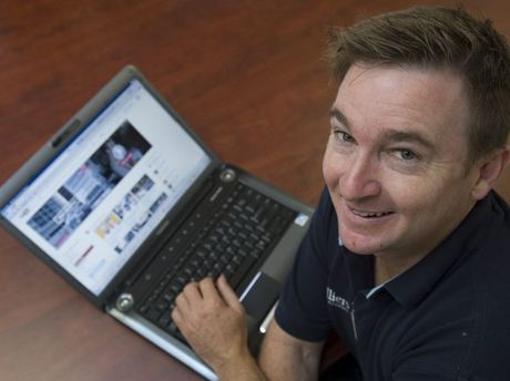 Unlike many frustrated Toowoomba business owners, Brendan McDonald is happy with his NBN connection.