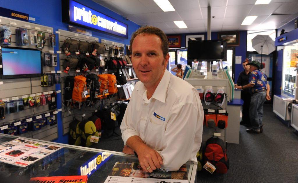 Bundaberg Camera House owner Scott Allison.