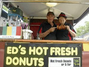 Ed's Donuts blesses Boyne/Tannum HookUp for 10th year