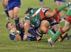 Bribie Island v Nambour at Stockland Park. Photo: John McCutcheon / Sunshine Coast Daily