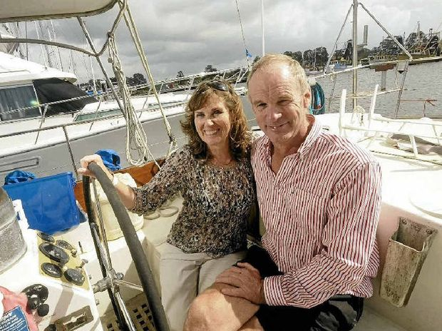 Duncan and Caroline Woodhead of Alstonville will spend four years sailing around the world.