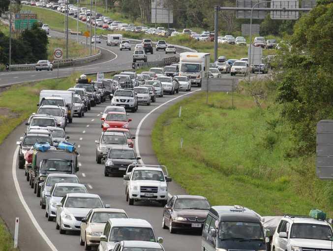 Bruce Hwy traffic congestion.