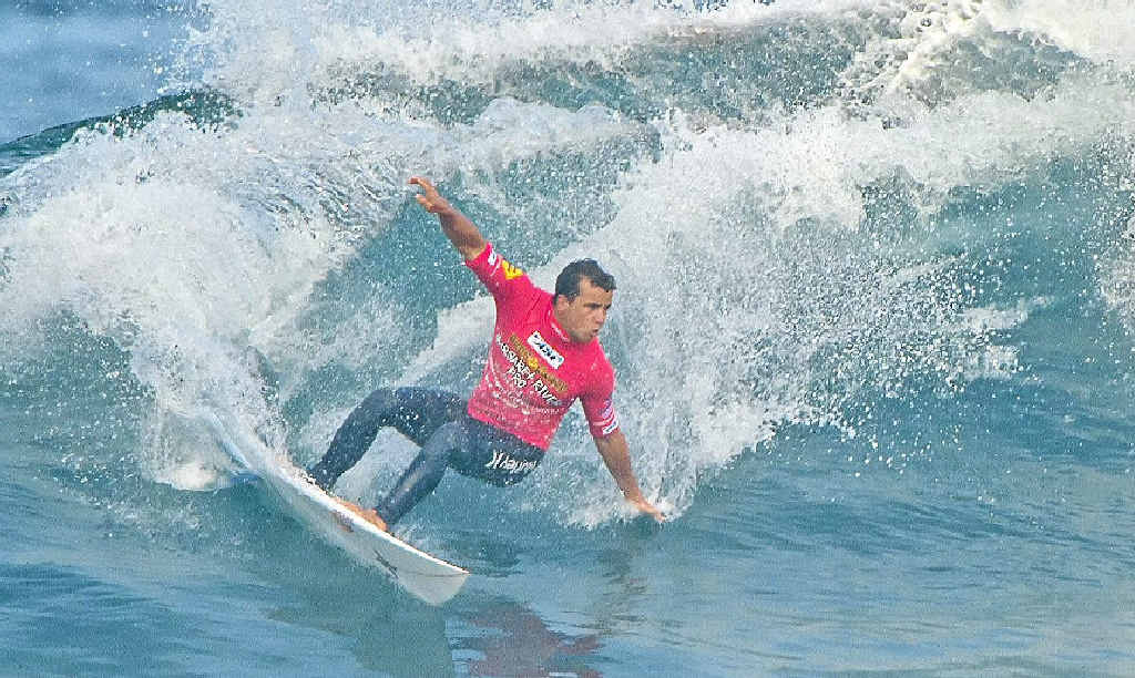 Coolum Beach's Julian Wilson is in top form and keeping the pressure on the rest of the world's top 10 surfers.