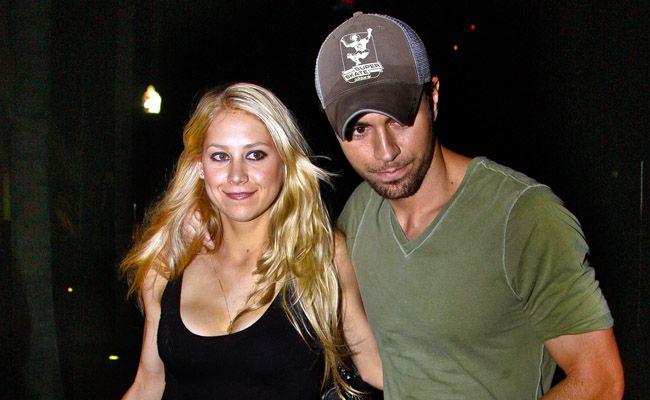 Anna Kournikova and Enrique Iglesias