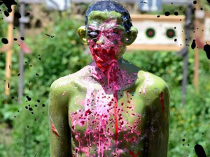 The undead prez: NRA bans zombie Obama-lookalike target