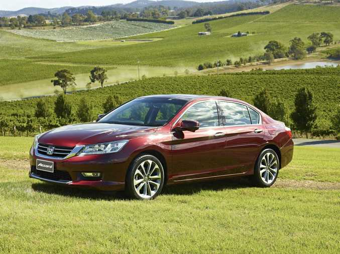 The new Honda Accord.