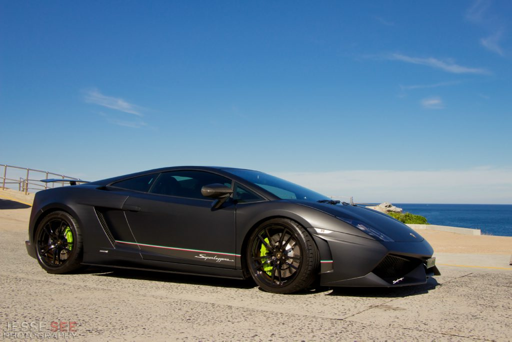 The Lamborghini Gallardo LP570-4 Superleggera Edizione Tecnica.