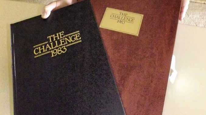 RARE BOOK: Lyal Parr, of Ballina, will display his copy of The Challenge 1983 at the Alstonville Rotary Antiques and Collectables Fair. It is one of only 1000 copies published in the world.