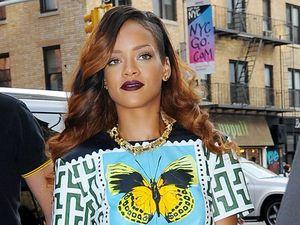 Rihanna takes swipe at Chris Brown over break-up