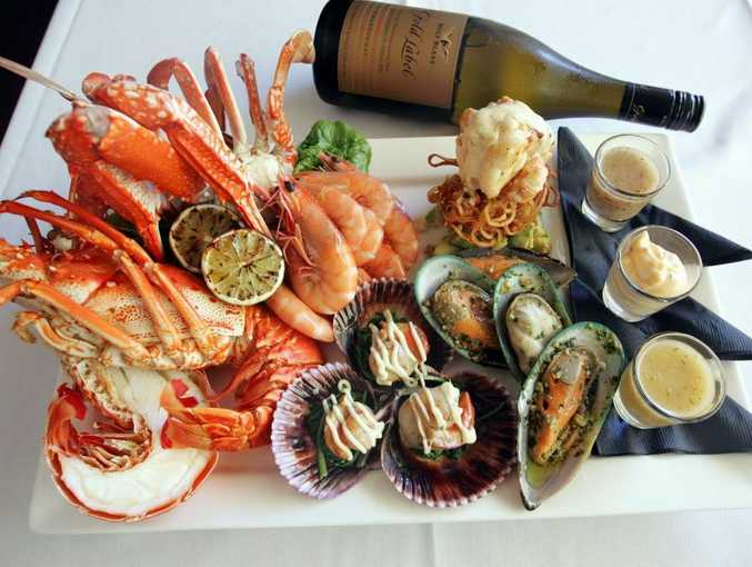 Seafood is a firm favourite for the Aussie Christmas lunch.