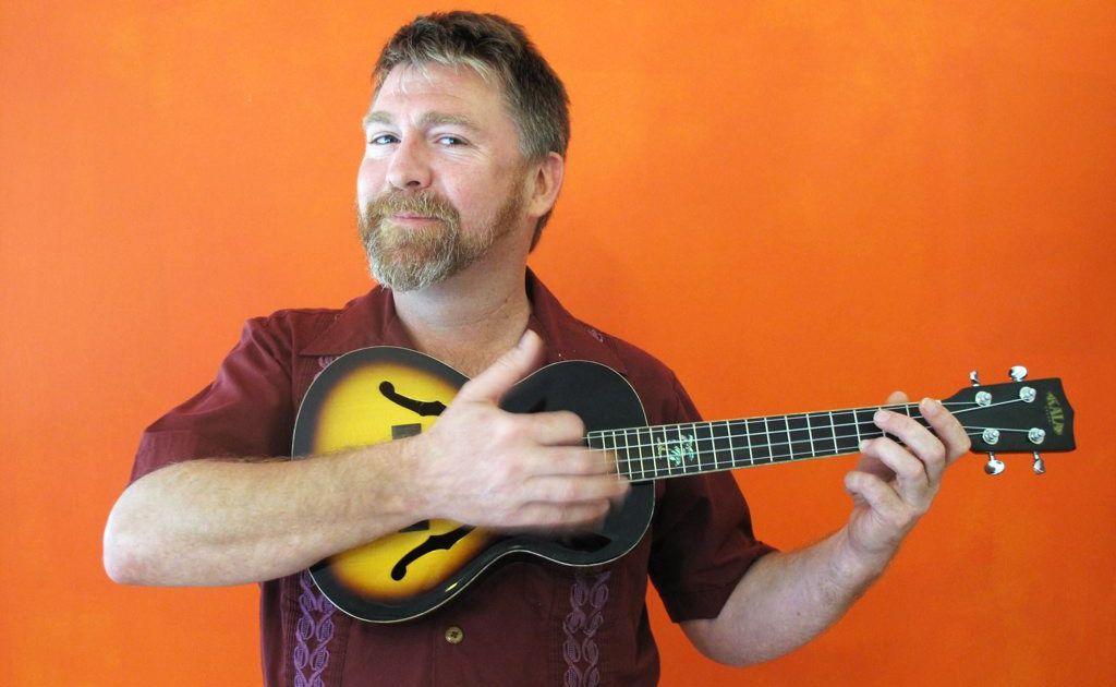 Stukulele aka Stuart Eadie said playing the ukulele is always a good time.