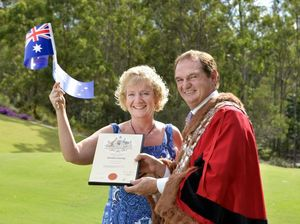 Mayor to the rescue as pom turns true blue on green