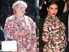 Robin Williams mocks Kim Kardashian's Met Gala dress