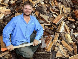 Firewood sales rise as mercury drops