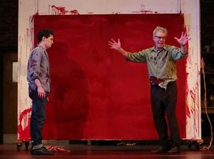 'Red' provokes artist's passion and power battle