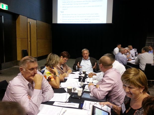 MPs from around Queensland draft some questions for their regions.