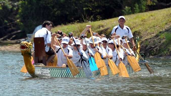 Hervey Bay Dragons are hoping to defend their Wide Bay Regional Dragon Boat Regatta this year.