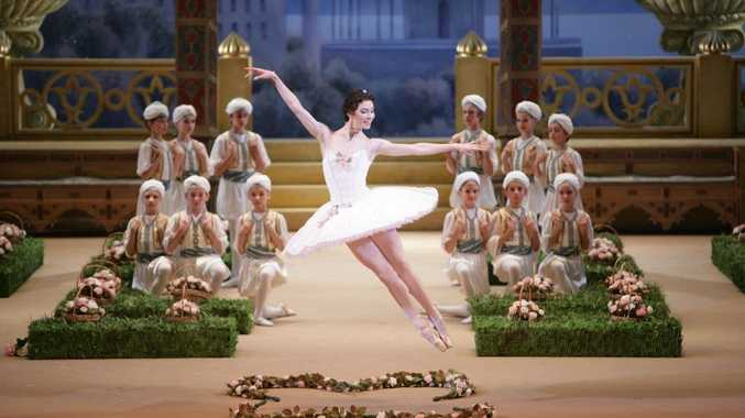 Maria Alexandrova performs in the Bolshoi Ballet's Le Corsaire.