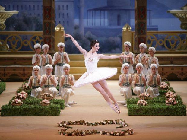 Maria Alexandrova performs in the Bolshoi Ballet's Le Corsaire.