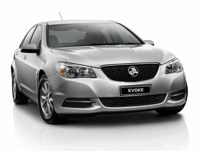 The VF Holden Commodore Evoke.