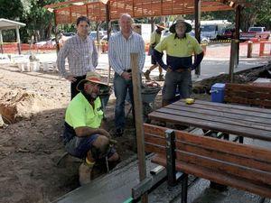 Dayman Park's $135,000 revamp progressing well