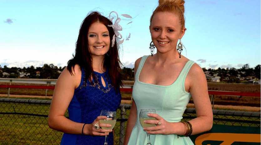 Mikayla Pratt and Rachel Jones will be enjoying the Picnic Races.