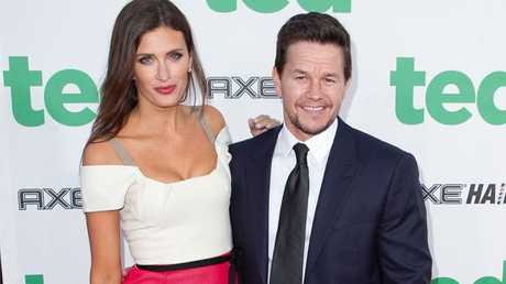 Mark Wahlberg with wife Rhea Durham.