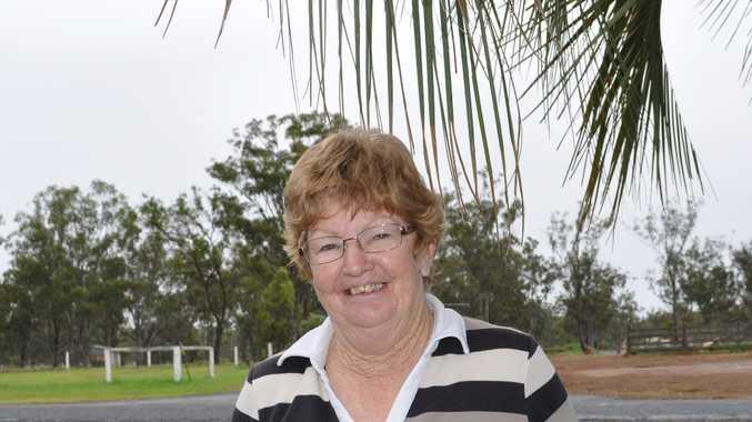 Leyburn's QCWA representative Mary Hamblin.