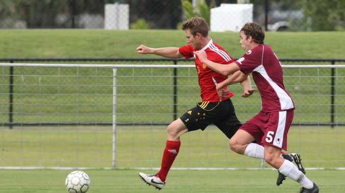 The Fire's Sam Knight has been a standout since moving from the midfield to defence.