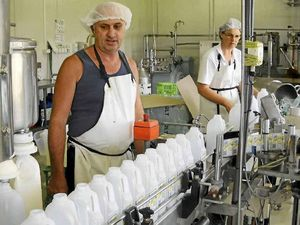 Dairy farmer pleads for community to buy branded milk
