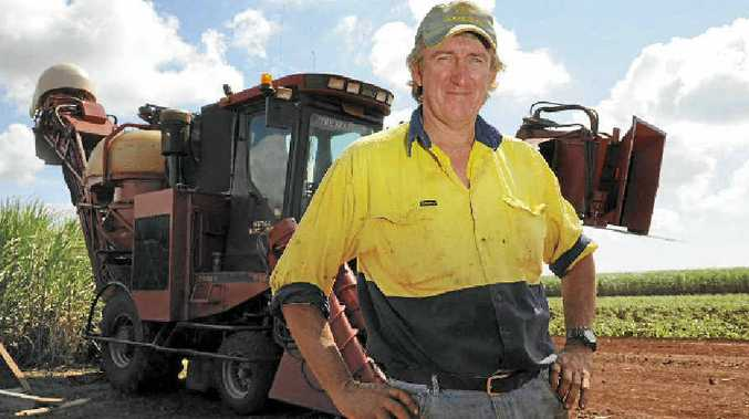 SHOCKING PRICES: Bundaberg cane grower Richard Zunker is concerned by the soaring power prices which are threatening irrigators' productivity.