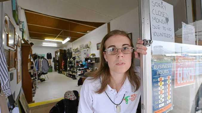 VOLUNTEERS NEEDED: Tiffany Sparkes of the Saddle Shop in Yandina needs volunteers to help keep funds flowing.