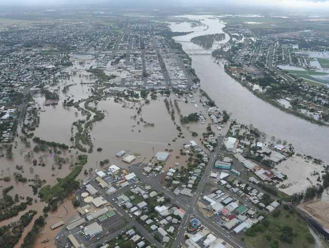 The Bundaberg floods caused widespread devastation.