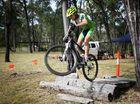 Borys Zagrocki competing in the Rocky MTB 8 Hour XC. Photo Allan Reinikka / The Morning Bulletin