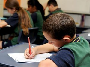 Heads down! Queensland students prep for NAPLAN
