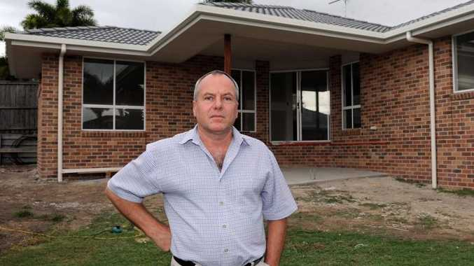 Glenn McNeil will be hit with a hefty rates increase after building a granny flat for his elderly parents.